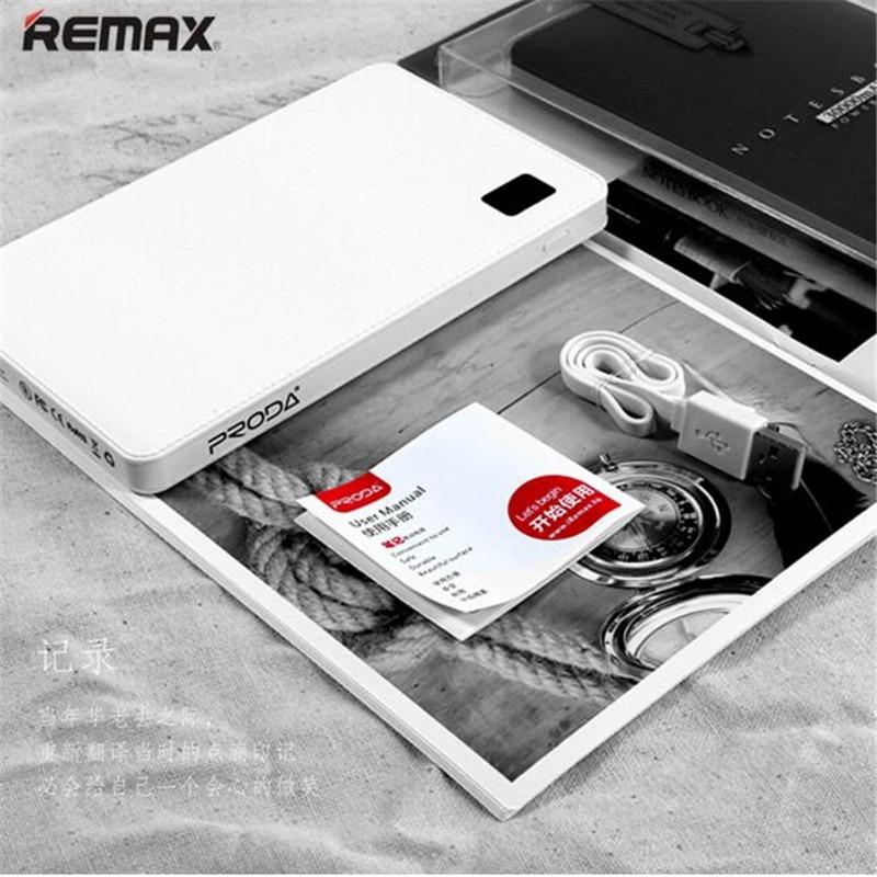 imágenes para Remax Original Proda Portátil Móvil banco de la energía 30000 mAh 4 USB Cargador de Batería Externo universal Banco de la energía de batería externa