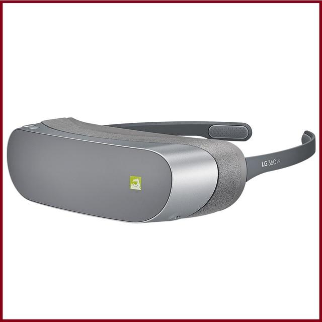 Original lg 360 panorâmica vr realidade virtual óculos de vídeo fone de ouvido portátil