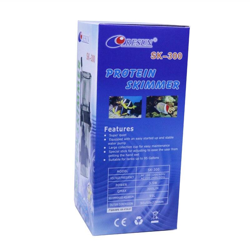 Séparateur de protéines d'aquarium séparateur de protéines enfichable Ultra-silencieux/réservoir d'eau SK-300 petit séparateur Akvaryum Malzemeleri - 2