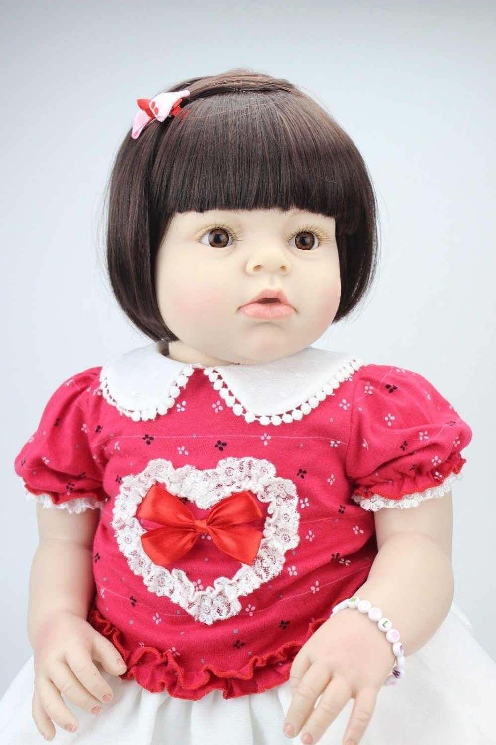 Best-selling doll lifelike reborn toddler doll 28'' 70cm soft silicone vinyl real gentle touch for girl present lifelike reborn toddler doll soft silicone vinyl real gentle touch 28inches