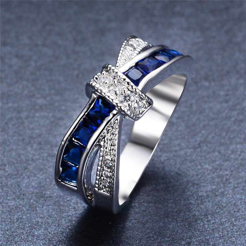 6 Color Pretty Wedding Ring...