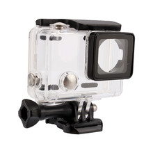Go Pro Accessories Waterproof Housing Case for Gopro Hero 3+ / 4 Underwater Diving Protective Cover(China)