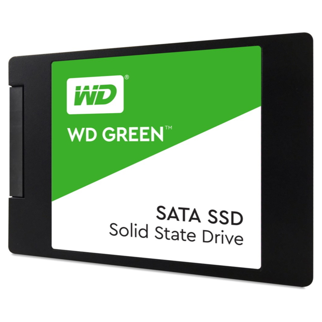 Western Digital WD Green, 120 go, 240 go, 2.5 pouces, 540 mo/s, 6 Gbit/s