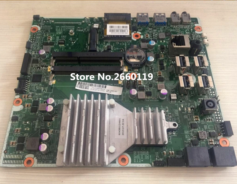 Desktop mainboard for 716241-001 728286-001 18-1200CX AIO motherboard Fully tested 744009 501 744009 001 for hp probook 640 g1 650 g1 motherboard socket 947 hm87 ddr3l tested working