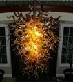Современная ручная выдувная стеклянная люстра  освещение  высокое качество  гостиная  художественный декор  муранская стеклянная люстра дл...