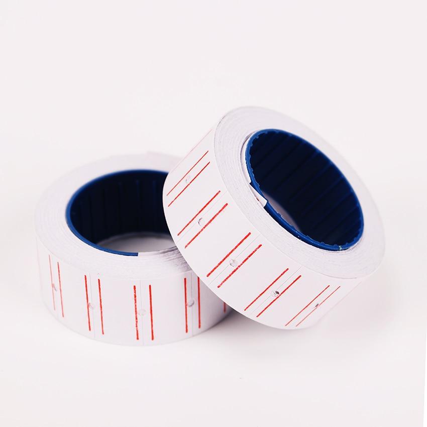1 шт. самоклеящиеся ценовые этикетки бумага DIY рулонная бумага s бирка Марка Наклейка для печати Цена Этикетка канцелярские наклейки s