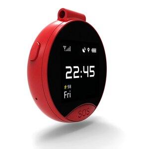 Image 5 - Najnowsze S9 inteligentny pozycjonowania GPS zegarek kieszonkowy jeden klucz dwa sposób połączeń z numerami telefonów alarmowych SOS wodoodporny, odporny na pot magnetyczne