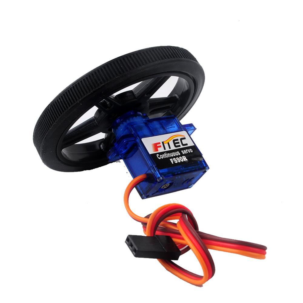 Feetech FS90R Servo Wheel FZ0101-01+FZ2913