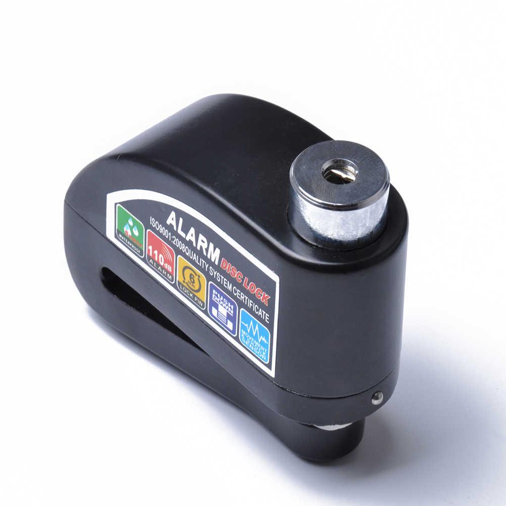 Sepeda Motor dan Skuter Anti-Theft Disc Brake Lock Keamanan Gembok Alarm