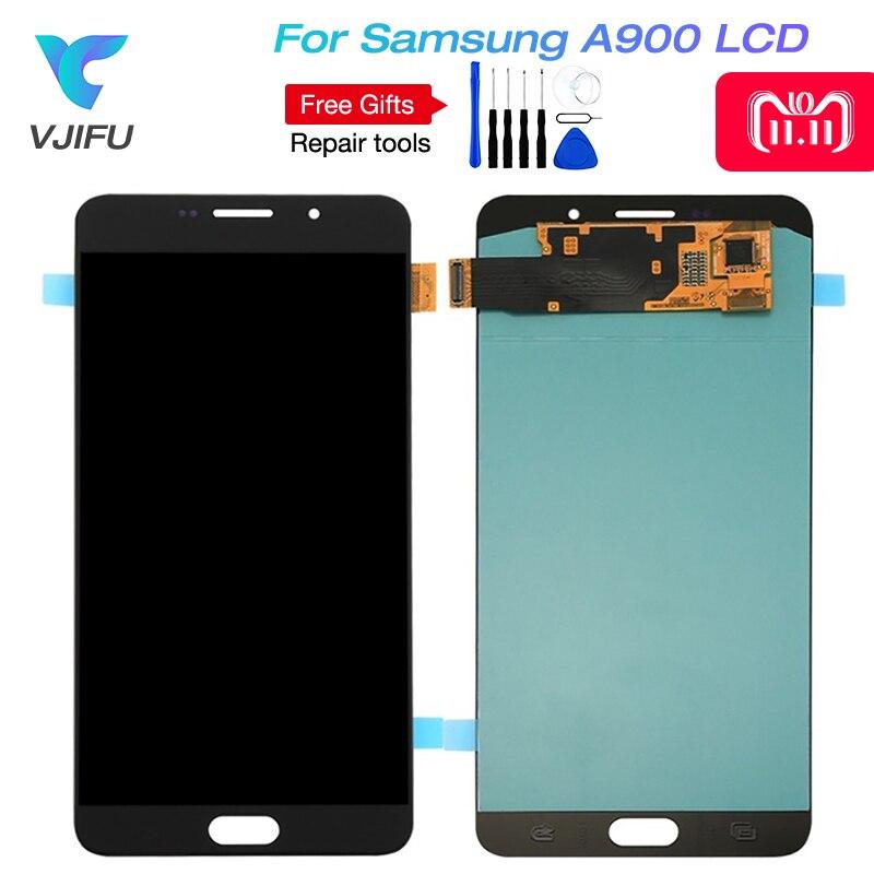 Écran LCD Pour Samsung Galaxy A9 A9000 A900 SM-A9000 Téléphone À Écran Tactile LCD Digitizer Assemblée Pièces De Rechange + Outils