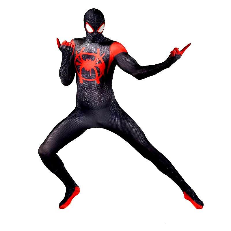 Spider-Ham Peter Porker Adult Kids Halloween Cosplay Bodysuit Costume