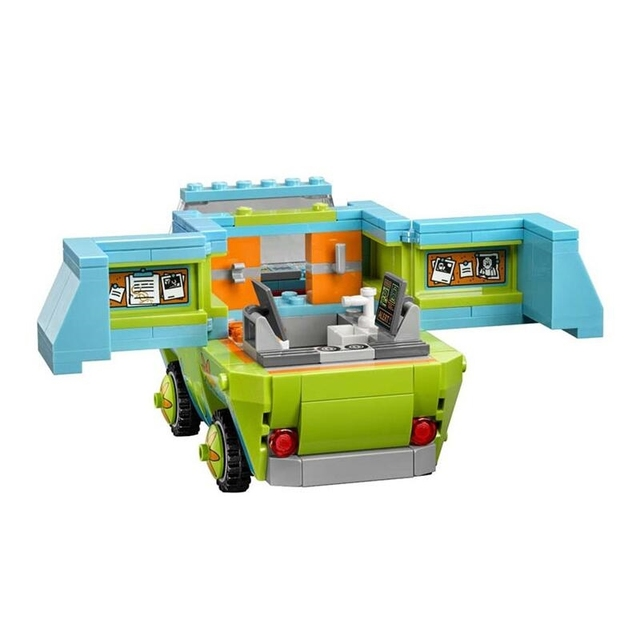 10430 10428 With Legoinglys Scooby Doo The Mystery Machine Building Block Toys Set Bricks educational For Children 2