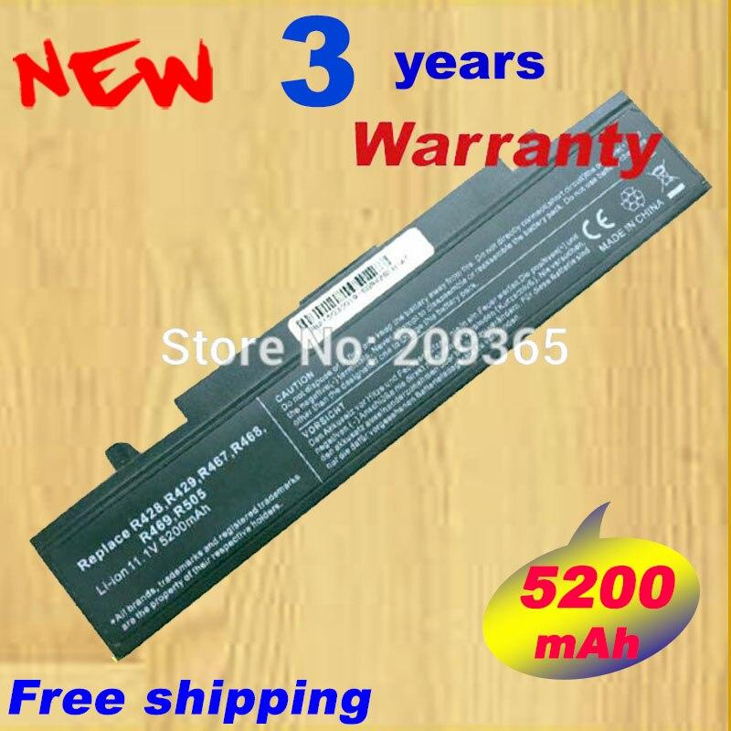 Laptop Battery For Samsung R428 R468 R470 R478 R480 R517 R520 R519 R522 R523 R538 R540 R580 R620 R718 R720 R728 R730 R780 R530 new laptop c shell cover for samsung r478 r480 ba75 0411b