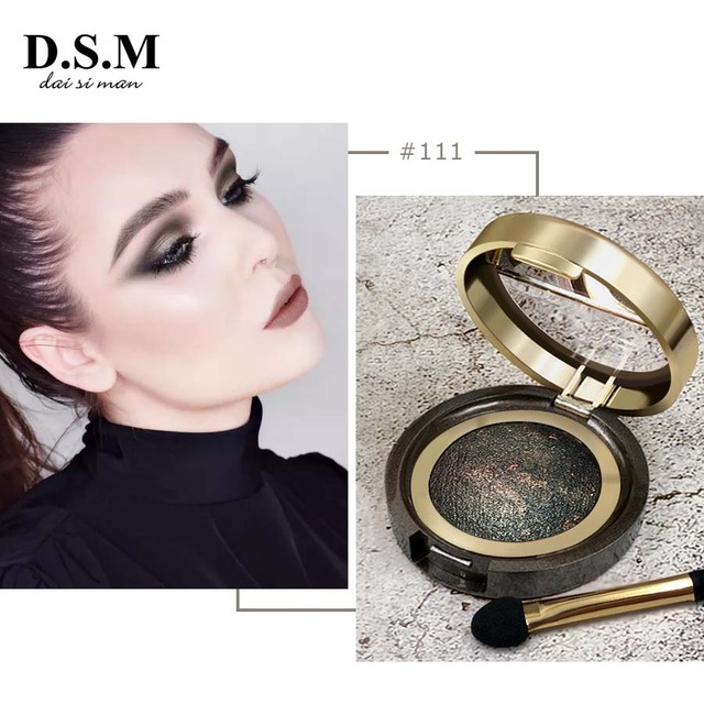 D.S.M Brand New Mineralize Eye Shadow Waterproof Long-lasting Cosmetic Eyes Perfect Shades Luminous Pigment Makeup Eyeshadow 4