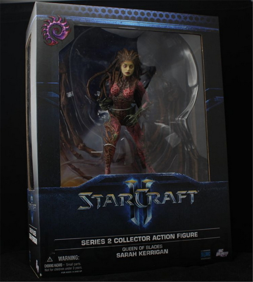 Queen of Blades Kerrigan Figure Collection Toys with Box 22cm плиткорез redverg rd 711520