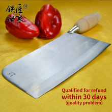 Chef knife handmade forged stainless steel Slicing Chopping bone fish meat vegetable fruit кухонные ножи