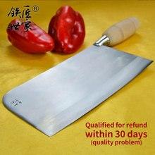 Chef knife handmade forged stainless steel Slicing Chopping bone fish meat vegetable fruit кухонные ножи