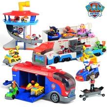 Оригинальная фигурка «Щенячий патруль», игрушечная машинка, мобильный спасательный большой автобус, Щенячий патруль, обсерватория, аниме «Щенячий патруль», «Щенячий патруль», игрушечный подарок для мальчика