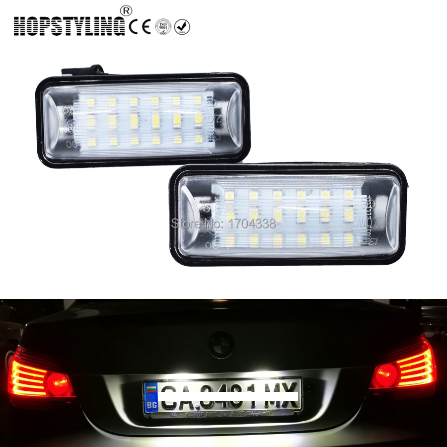 Hopstyling 2pcs LED License Plate Car Interior Light Package Kit for Subaru Legacy Forester Crossrek Wagon Super Bright cawanerl car canbus led package kit 2835 smd white interior dome map cargo license plate light for audi tt tts 8j 2007 2012