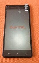 شاشة عرض LCD أصلية مستعملة + شاشة لمس + إطار لـ OUKITEL C5 Pro MTK6737 رباعية النواة شحن مجاني