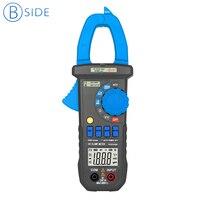 BSIDE ACM01 Plus 3 1/2 600A rango automático medidor de pinza Digital multímetro de prueba de Corriente CA sin contacto y retroiluminación de abrazadera|digital clamp meter|clamp meter|digital clamp -