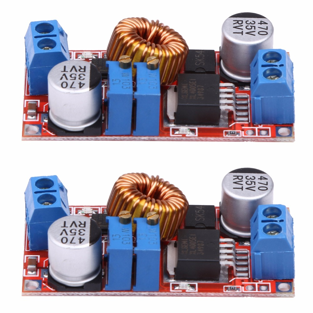2pcs 5a Constant Current Led Driver Module Battery Charging Dual Super Cap Circuit From 12v With Balance Voltage Dc Power Charger