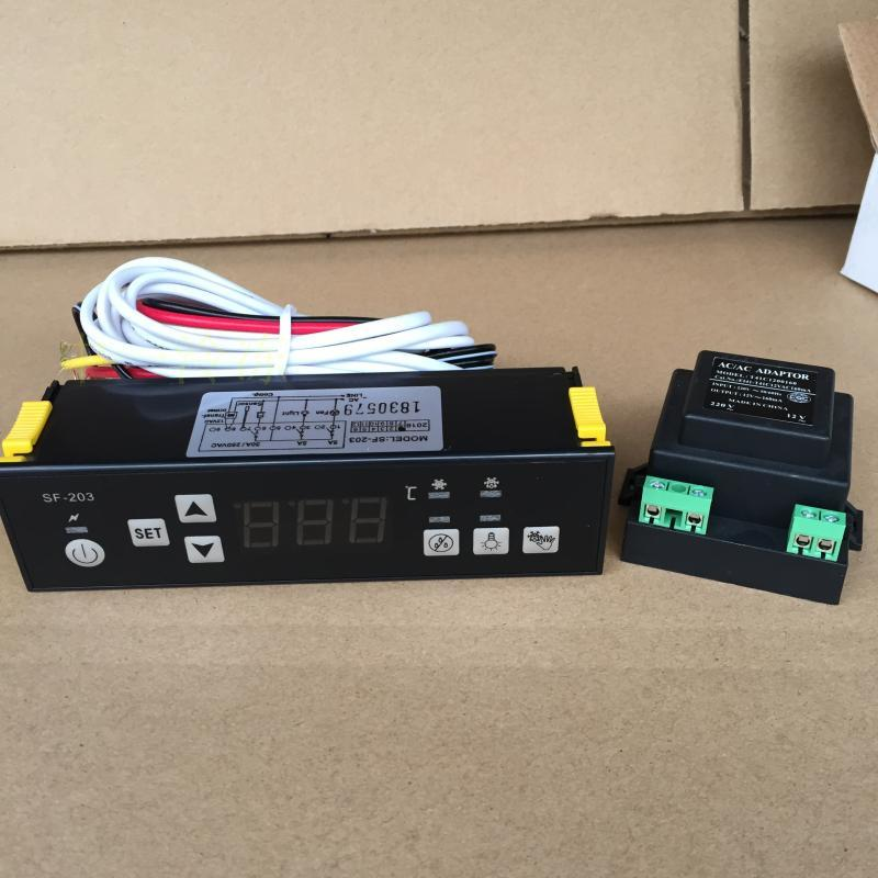 SF-203 Display Cabinets Freezer Refrigerator Temperature Controller Electronic Thermostat PC 203