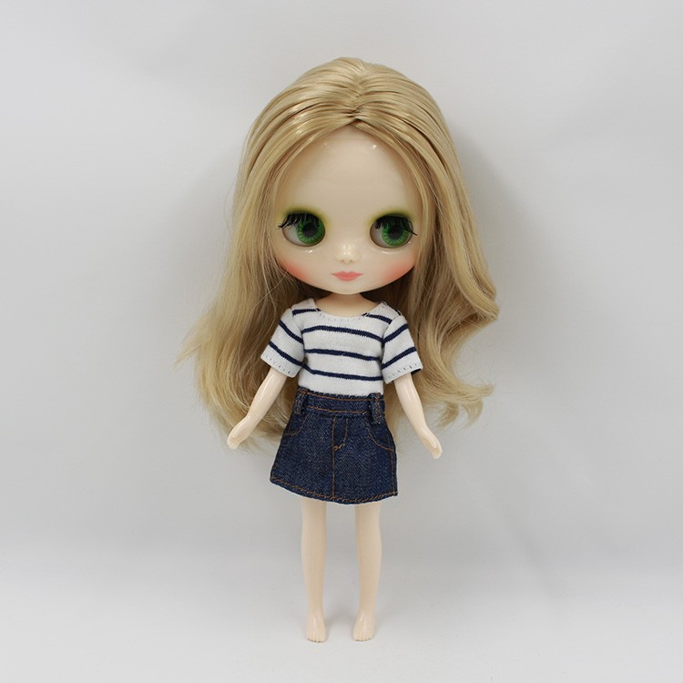 Middie Blythe Doll Multi-Color Hair 20cm 2