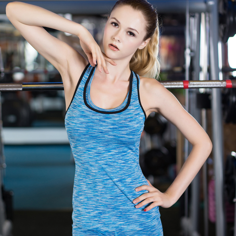 61436080d4e Hot Sexy Yoga Tops Women Sports Clothing Tights Sleeveless Gym Shirt Quick  Dry Blouse Fitness Running Women s Sportswear Vests-in Yoga Shirts from  Sports ...