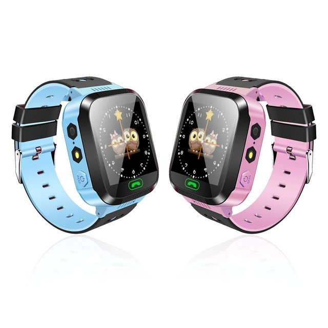 Y03 Children Smartwatch Kids Wristwatch Touch Screen GPRS Locator Tracker Anti-L