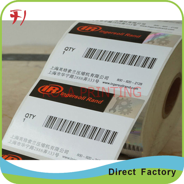 Customized oem printing adhesive small sticker for promotionproduct packaging in roll or sheet