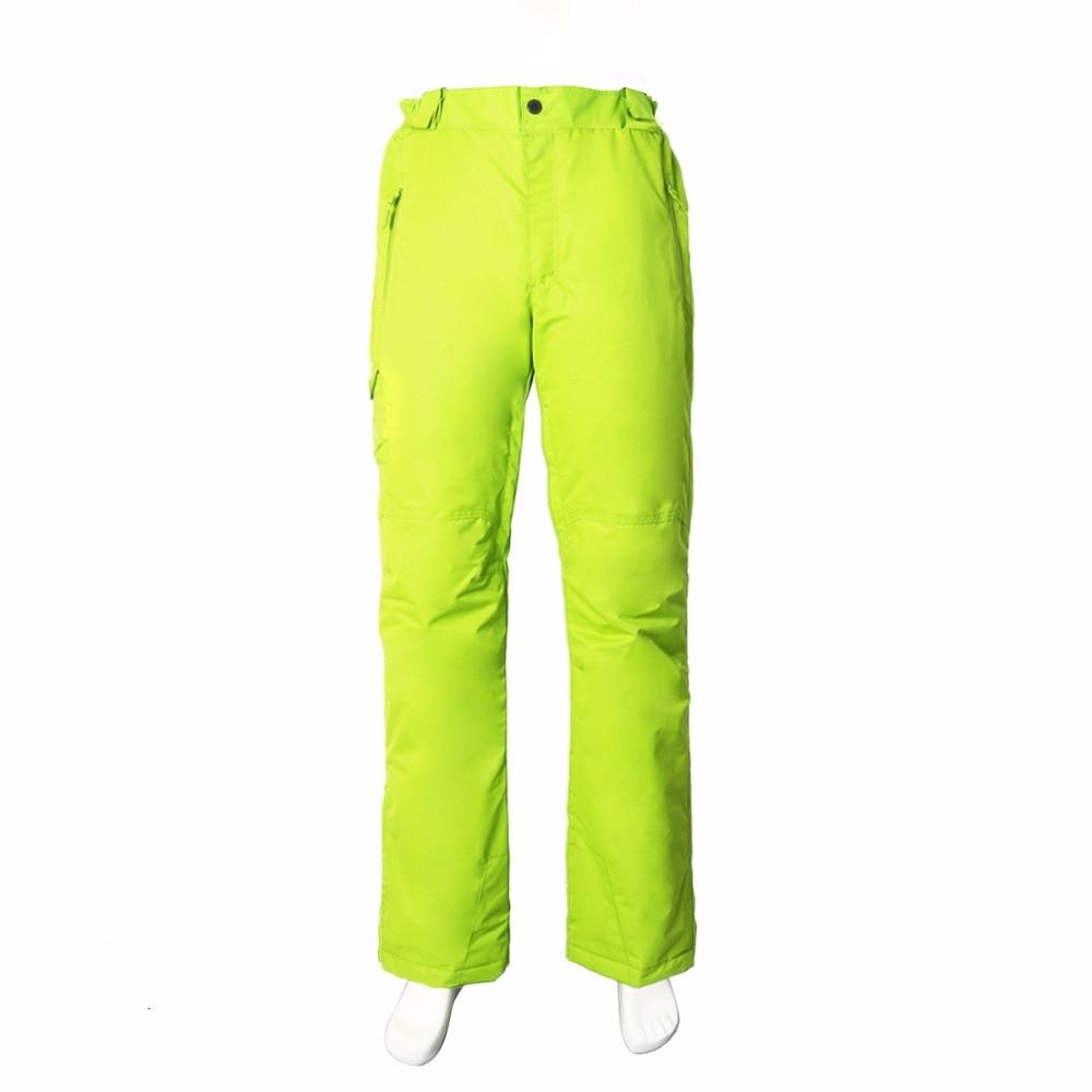 Pantalon de ski professionnel imperméable coupe-vent pour femme taille élastique épaisse pantalon de patinage de Snowboard chaud pour femme - 6