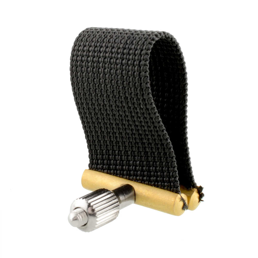 Fabric Ligature Mouthpiece w/Fattener For Alto Tenor Saxophone Portable Alto Sax Ligatures Fastener