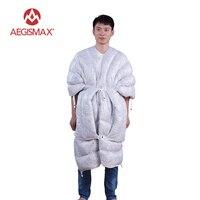 AEGISMAX Сверхлегкий конверт спальный мешок 850FP 95% гусиный пух Кемпинг Пеший Туризм Открытый 3 сезон спальные мешки