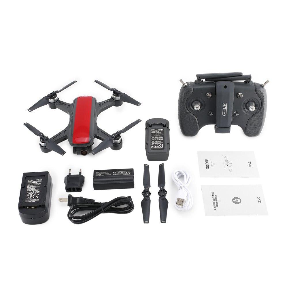 C FLY Мечта 5 г Высота удерживайте Дрон GPS оптического потока позиционирования Следуйте за мной RC Quadcopter с 720P HD камера один ключ возврат Лидер пр