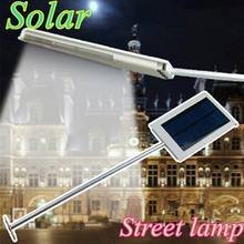cheap Optional 12 LED 15 LED Solar Lamp Solar Powered Panel LED Street Lighting Outdoor Garden Path Spot Wall Emergency Lamp luminaria,image LED lamps offers