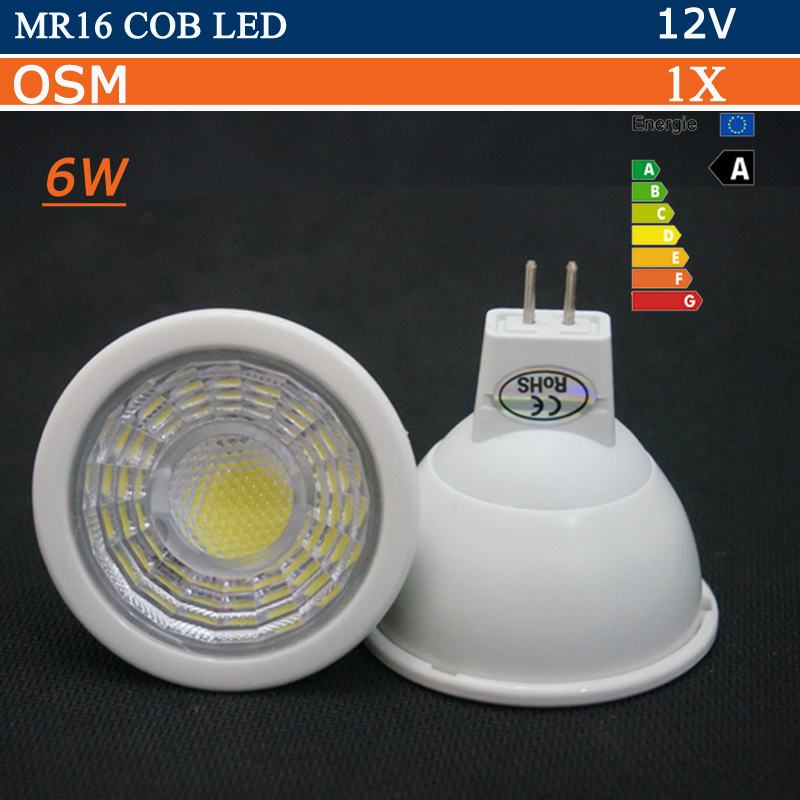 super bright mr16 cob led bulb 6w 12v ac dc g5 3 led lamp spotlight light warm white cold white. Black Bedroom Furniture Sets. Home Design Ideas