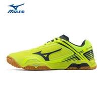 MIZUNO Для мужчин волна медаль Z Обувь для настольного тенниса Профессиональные подушки спортивная обувь дышащие кроссовки 81GA171045 XYP618