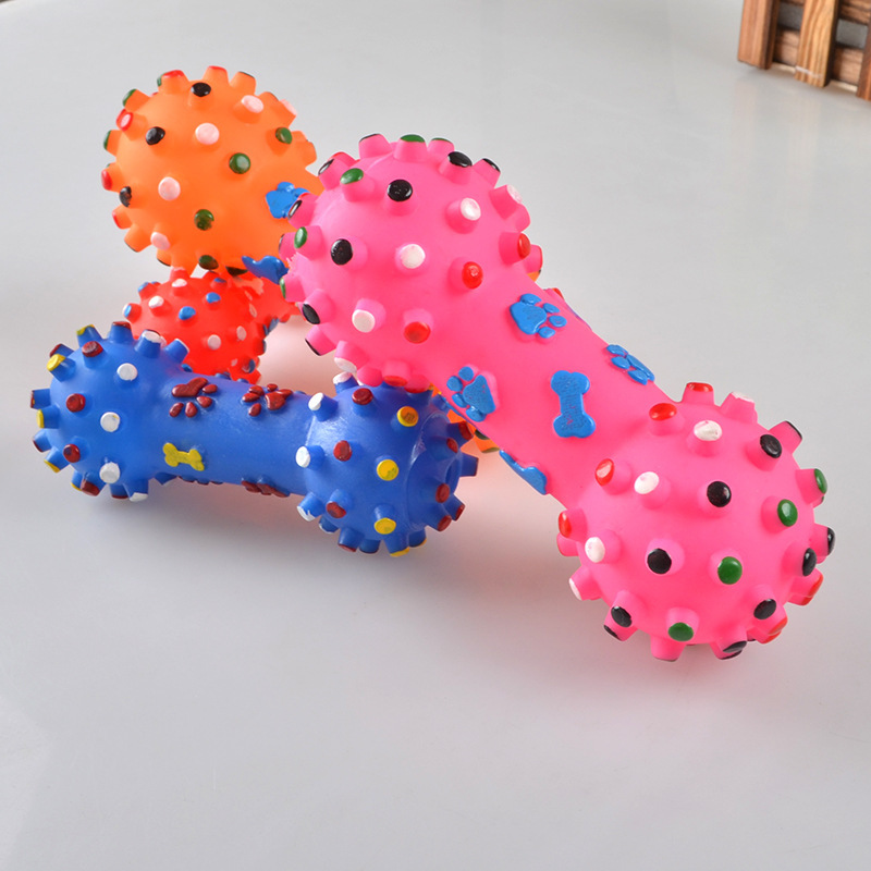 Dog Toys Resistant Chew Pet Toy Dog Games Interactive Rubber Pacifier Bone Toy For Small Large Dogs Animals Honden Speelgoed