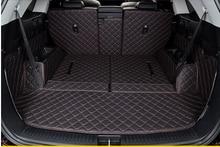 Good! Special trunk mats for KIA Sorento 7seats 2017 durable cargo liner mat boot carpets for Sorento 2016-2015,Free shipping