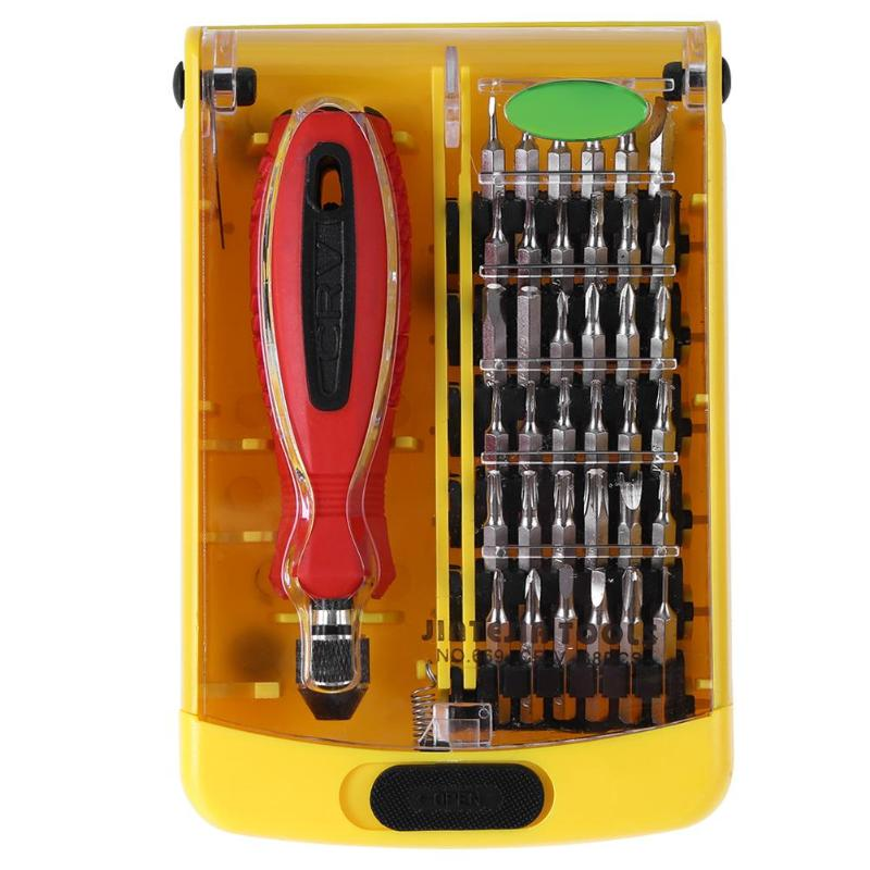 Professional 37pcs Screwdrivers Set Multi-function Computer PC Mobile Phone Digital Electronic Device Repair Tools Screwdrivers