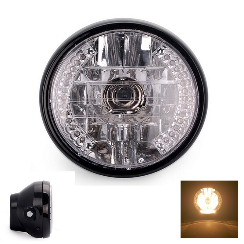 EE support Hot Sales Motorcycle accessories 12V 7 inch ATV Distance Light Turn Signal lamp