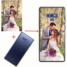 Custom DIY Photo on Super Thin Soft TPU Silicone Cover Customized Image Print Phone Case for Samsung Note 8 9 S6 S7 S8 S9 plus