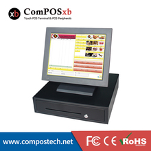 Free Shipping Complete Retail Point of Sale POS System with 15″ Screen With 410mm cash drawer