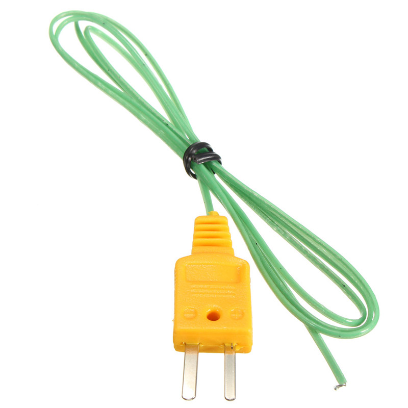 High Quality K-Type Thermocouple Wire Digital Thermometer Temperature Sensor Probe Multimeter