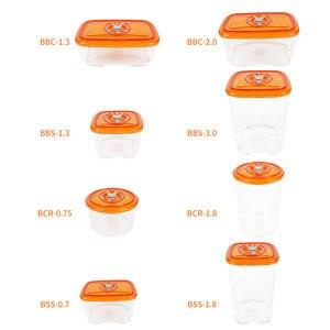 Image 4 - LAIMENG Vacuüm Container Plastic Voedsel Opslag Container Met Deksel Dampdicht Grote Capaciteit Keuken Box voor Vacuüm Sealer S250