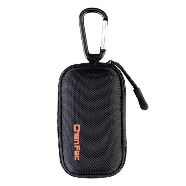 MP3 プレーヤーケースデジタル MP3 収納ケース/バッグデータケーブルパッケージジッパー袋ポータブルジップロックジュエリーオーガナイザーケース金属カラビナ