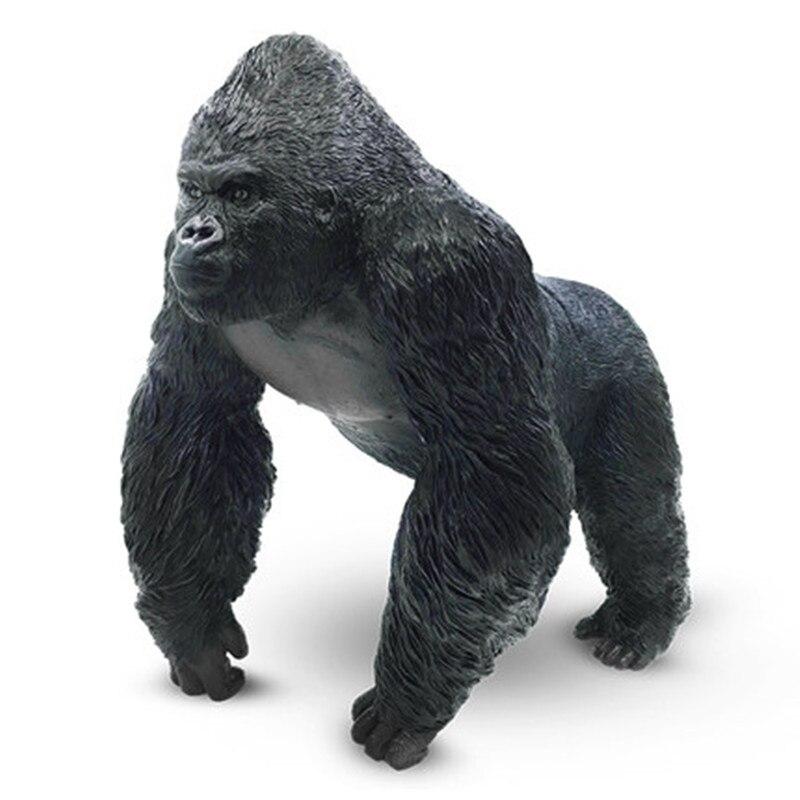 Kong: crâne île Simulation gorille colle souple dessin animé Animal sauvage Action figurine Collection modèle jouet X636