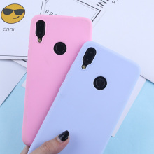 For Redmi Note 7 Case Candy Color TPU 4 4X 5 5A Prime 6 Pro Luxury Silicone Matte Soft Phone Back