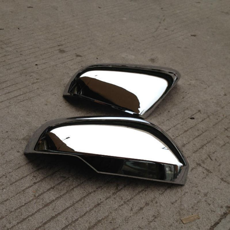 Montford Abs Chrome Side Door Mirror Covers Rear View Mirror Frames